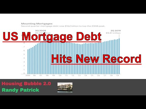 housing-bubble-2.0---us-mortgage-debt-hits-new-record