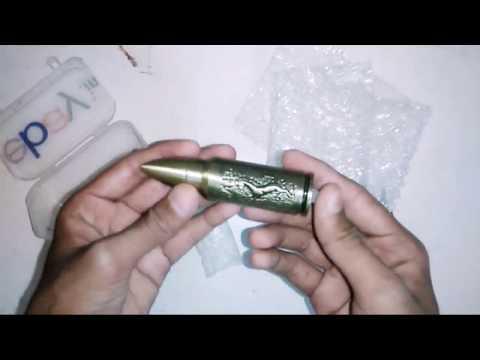 Hunter Bullet Shaped Jet Flame Butane Lighter