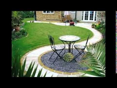 Charming Garden Patio Design