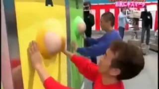 Video HOT  Lucu Game show Jepang    Japan Crazy Game show    11