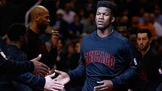 Jimmy Butler Skies for the Alley-Oop