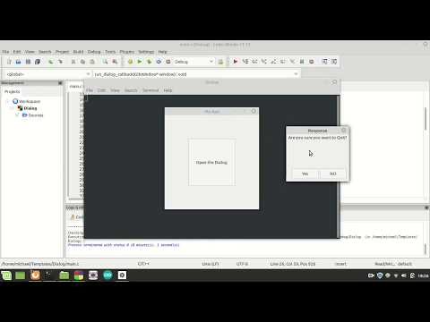 GTK3 CSS C Language Tutorial 90 Dialog Part 03 thumbnail