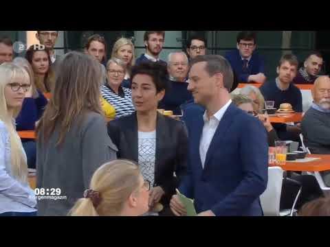 Eklat im ZDF Morgenmagazin - Zuschauerin läuft ins Bild sagt....