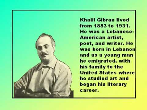 Pity The Nation by Khalil Gibran