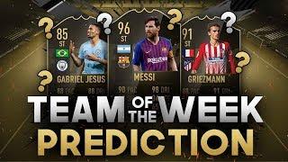 FIFA 19: TOTW 14 PREDICTION FT. MESSI (96), GRIEZMANN (91), JESUS (85)