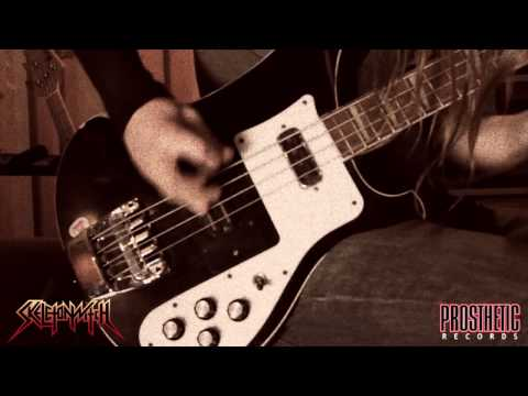 """SKELETONWITCH - """"Burned From Bone"""" behind-the-scenes studio tracking footage"""