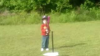 Camden Hitting Baseball