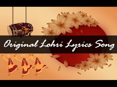 Original Lohri Lyrics Song