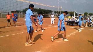 rotary public school hubli in volleyball match