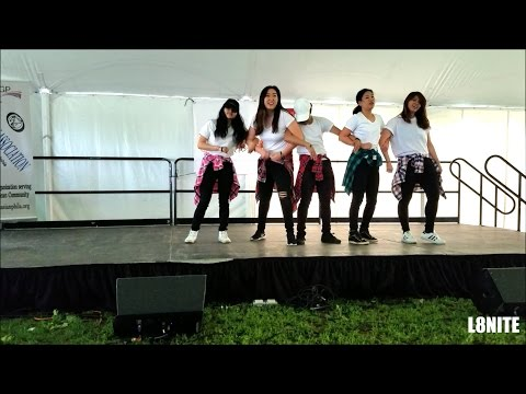 [L8NITE] KPOP Dance Medley at Asian Pacific American Heritage Month Celebration 2017