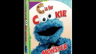 opening to sesame street c is for cookie monster 2010 dvd