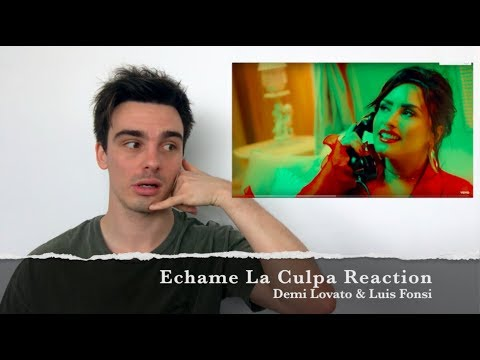 Demi Lovato & Luis Fonsi - Echame La Culpa  (Reaction)