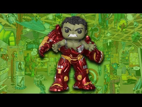 Hulk Busting Out Of Hulkbuster Funko Pop Review