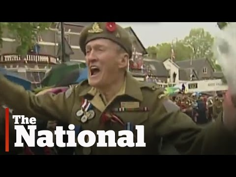 VE Day | Canadian Veterans Celebrated In The Netherlands