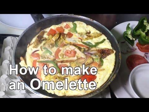 Halal Chicken Breakfast Omelette - Quick & Easy!
