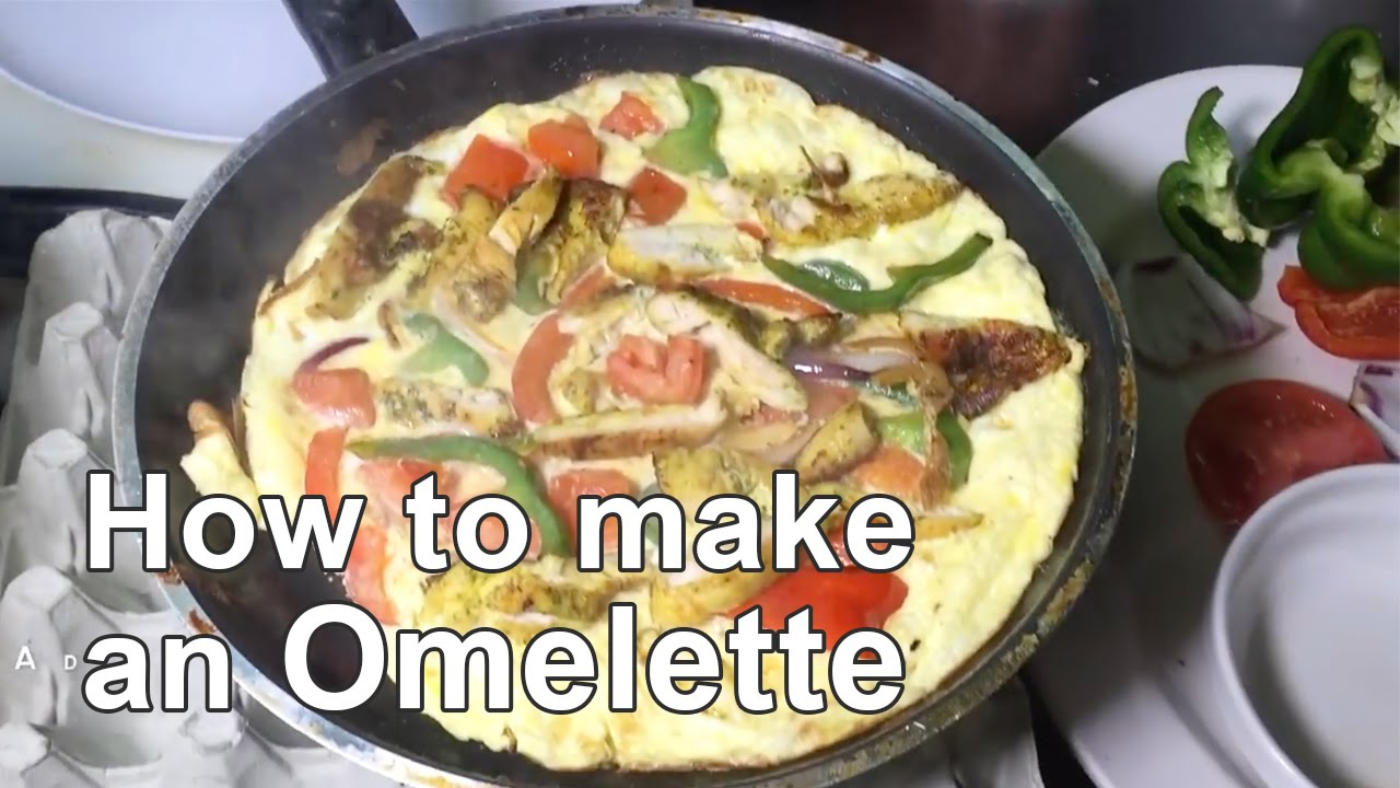 Halal chicken breakfast omelette quick easy youtube forumfinder Image collections