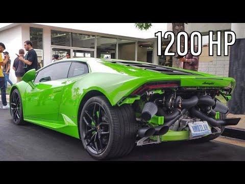 Twin Turbo Lamborghini Huracán AWD is INSANE! *1200 HP ...
