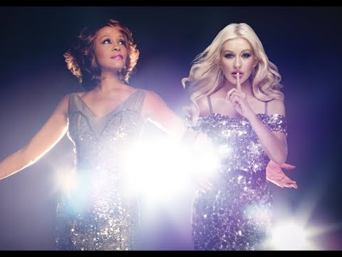 Cristina Aguilera e Whitney Houston