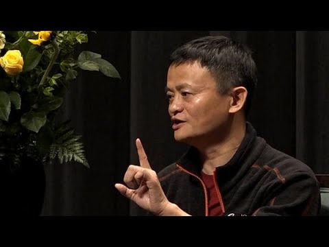 Alibaba's Jack Ma spoke to young entrepreneurs in Japan