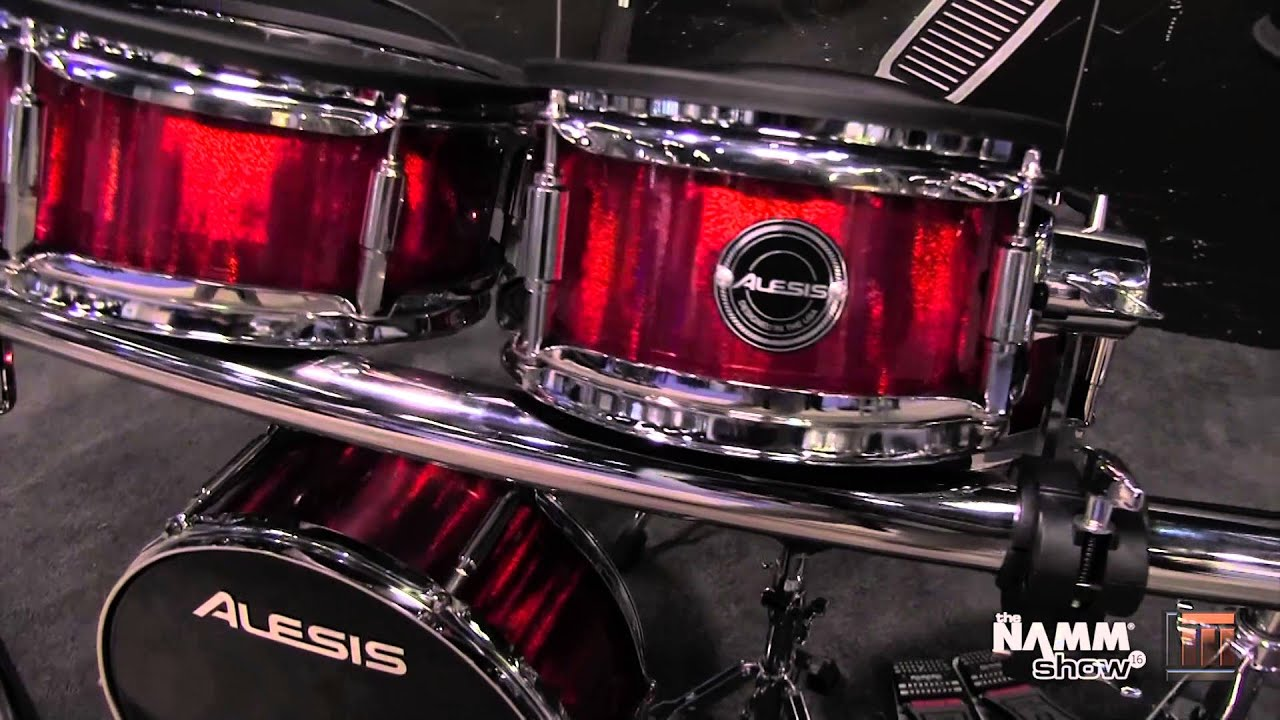 Long & McQuade @ NAMM 2016: Alesis Strike Pro Drum Kit - YouTube