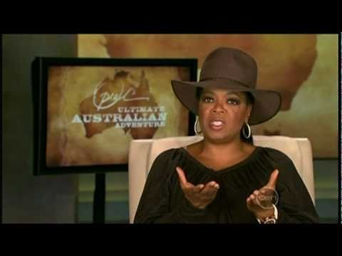 """Video excerpt: Network 10 News on Oprah's Australian visit"""