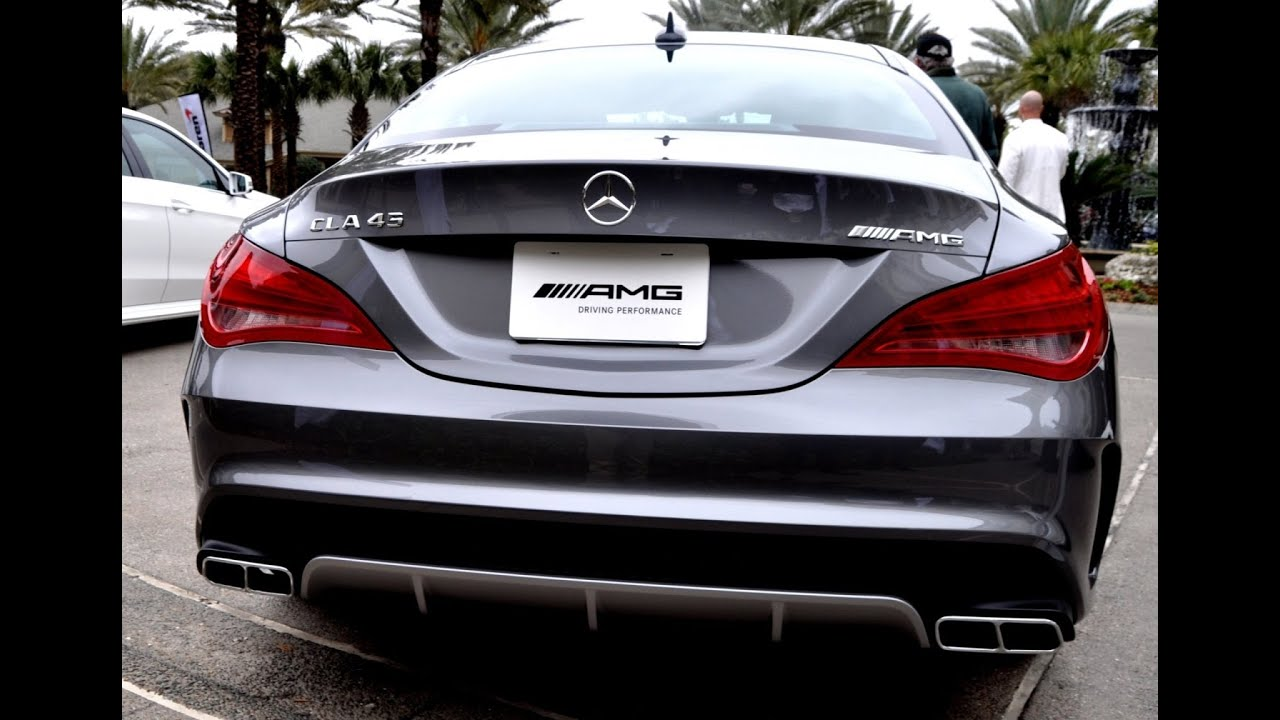 2015 mercedesbenz cla45 amg exhaust howl and turbo