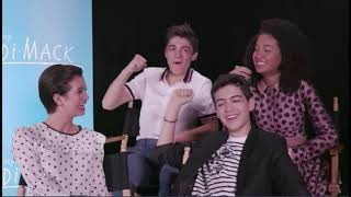 Andi Mack Interview | Actors Discuss Who They Ship On The Show