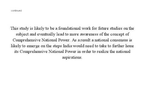 Comprehensive National Power (CNP)