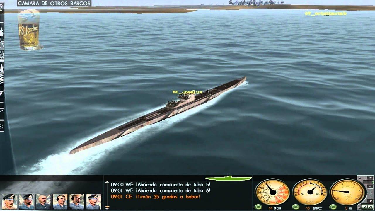 Silent Hunter 3 Gameplay Sub Vs Sub Cristian Italia 2