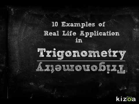 Trigonometry Real Life Application
