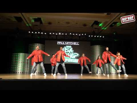 UpClose: Boom Crack! Dance Company - Chicago, IL (Adult Division) @ #HHI2016 USA Finals