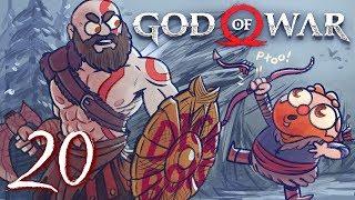 God of War HARD MODE (God of War 4) Part 20 - w/ The Completionist