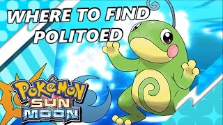 Pokémon Sun and Moon: Where to Find Politoed | Location and Tips - S.O.S Catching