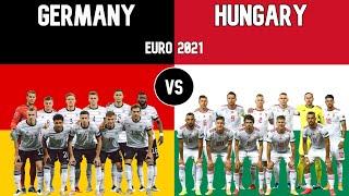 Germany vs Hungary Football National Teams Euro 2021