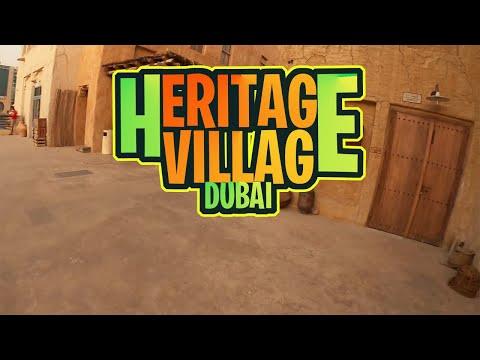 Walking Tour at Heritage Village | Al Seef | Dubai 2020 #heritage Village #Don Agot