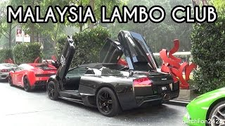 Lamborghini Owners Club Malaysia @ St Regis Hotel - Arrival