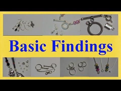 ★ Jewellery Tutorial ★ Basic findings