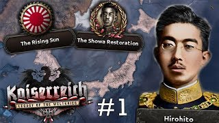 Kaiserreich: The Rising Sun #1 - The Showa Restoration  - Hearts of Iron IV