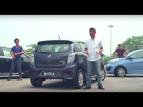 DRIVEN 2015 #4: Perodua Axia vs Proton Iriz vs Kia Picanto