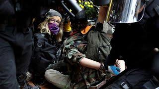 Trece detenidos en manifestaciones de ultraderecha y antifascistas en Portland