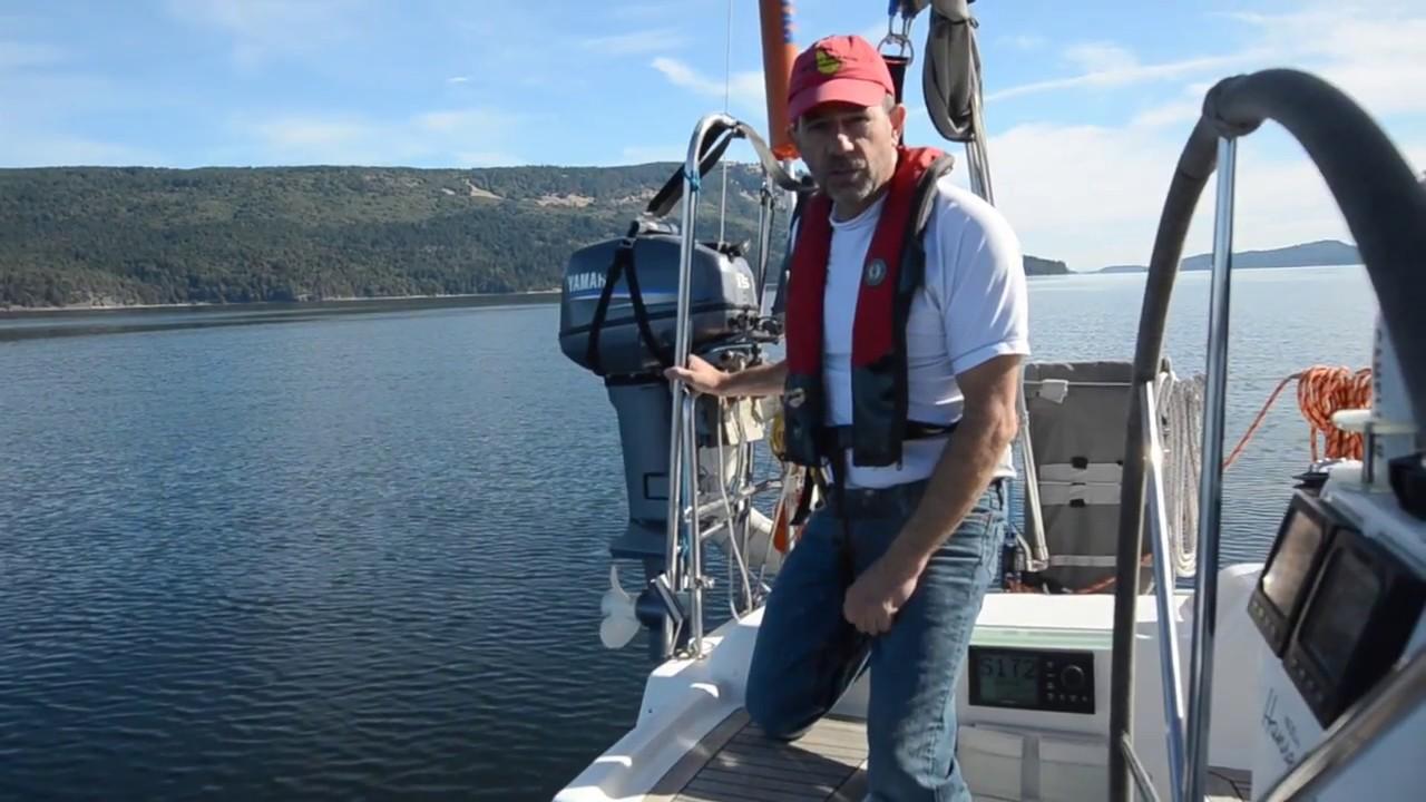 Swing Lift Outboard Motor Hoist Youtube Harness For Sailboat Premium