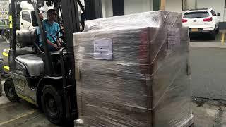 Nuestra primera exportación