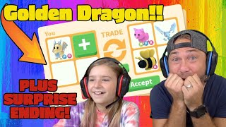 What People Trade For A GOLDEN Egg Pet in Roblox Adopt Me! *Funny Surprise For Cammy!!*
