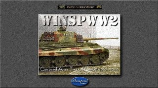 Let's play winspww2 Steel Panthers -The campaign 1944 Part:01