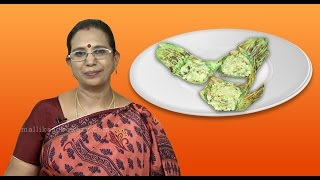Green Gram Dhal Banzi | Mallika Badrinath | Moong Dal Snacks Recipes