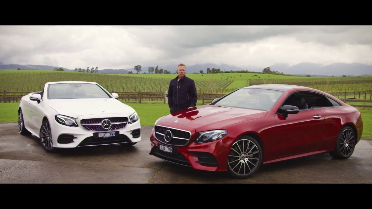 2017 mercedes benz e class coup cabriolet video for Mercedes benz e class brochure
