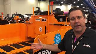 Video still for LeeBoy Outlines New Paver Conveyor Warranty at World of Asphalt 2018