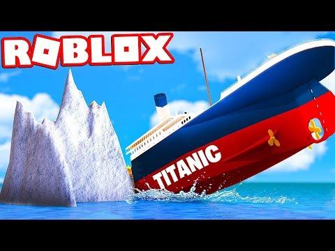 SOPRAVVIVI AL TITANIC SU ROBLOX! *DIFFICILE*