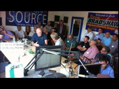 WOCA -Voice of Ocala - Terry Bradshaw Live