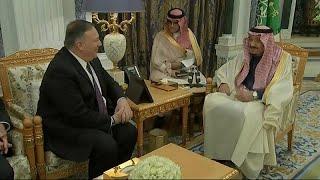 إيران وحقوق الإنسان على رأس محادثات بومبيو في السعودية …